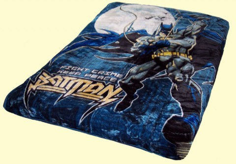 Twin Batman Peace Mink Blanket