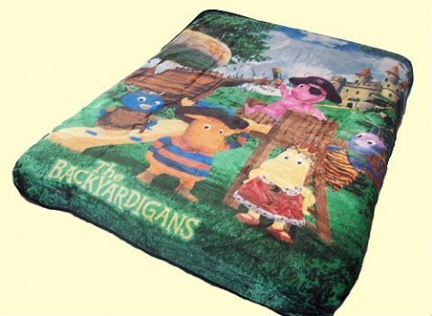 Twin Backyardigans Mink Blanket