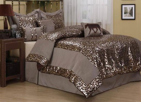 Chelsie 7PC Queen Comforter Set
