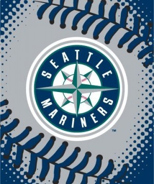 Twin MLB Seattle Mariners Mink Blanket