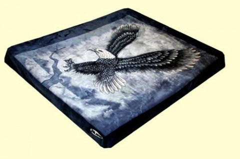 King Solaron Eagle Mink Blanket